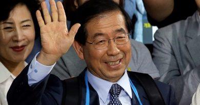 Corpo de prefeito de Seul desaparecido é encontrado após grande pesquisa