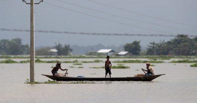 77 mortos em inundações e deslizamentos de terra no estado indiano de Assam