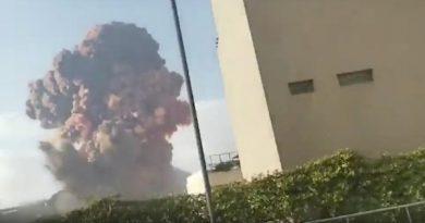 Explosão de Beirute 'uma das maiores explosões não nucleares da história'