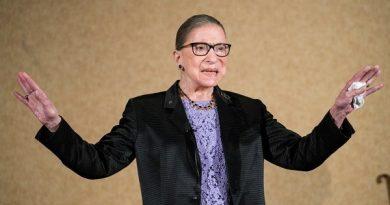 Morre Ruth Bader Ginsburg, defensora da Suprema Corte dos EUA e defensora dos direitos das mulheres