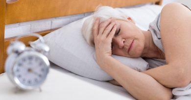acredita-se que o sono perturbado seja devido à exposição a produtos químicos
