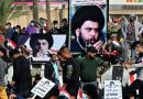 Apoiadores do clérigo iraquiano se manifestam na capital apesar da pandemia