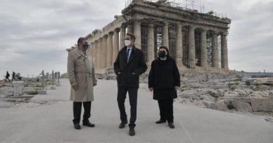 Novo elevador e caminhos para abrir a Acrópole a visitantes com deficiência