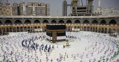 A Arábia Saudita faz a vacinação e outros critérios para Haj 2021