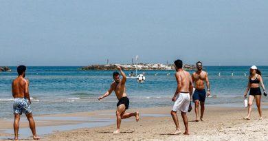 Israel rescindiu exigência de máscara de coronavírus externa