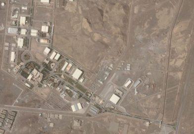 Blecaute 'suspeito' atinge a instalação nuclear iraniana de Natanz