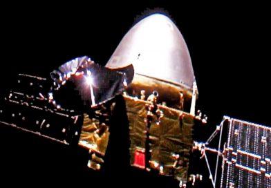 A nave espacial não tripulada da China pousa na superfície de Marte