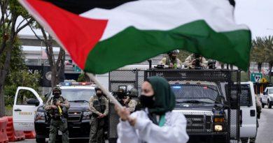 Manifestantes tomam as ruas dos EUA em apoio aos palestinos