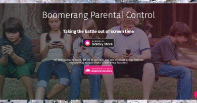 Análise do software Boomerang Parental Control